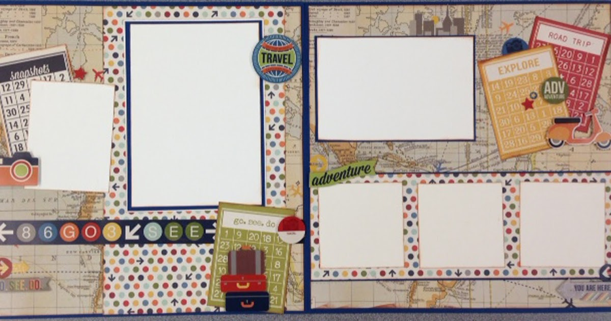 Hearts N Crafts Etc New Simple Stories 2 Page Layout Kit