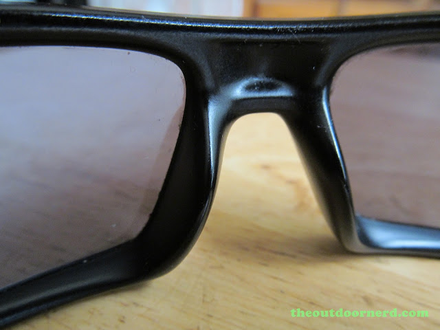 Oakley GasCan Sunglasses: Nose Goes Here