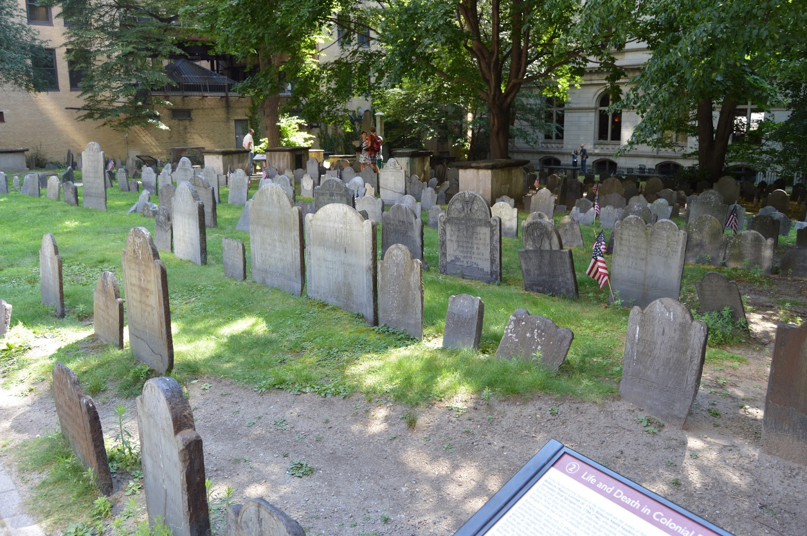 Boston, Freedom Trail, King's Chapel Burying Ground