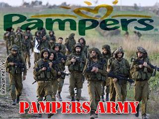Ketika Tentara Israel Mengguakan Pampers