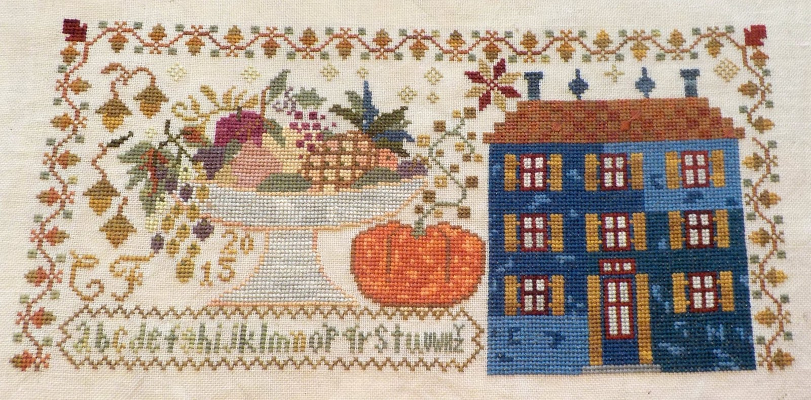 Feast of Friendship Blackbird Designs Cross Stitch Pattern