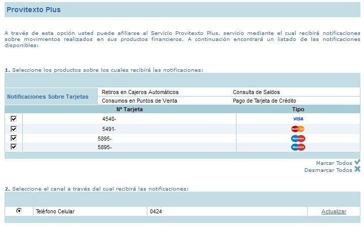 Banco provincial tarjetas de credito consulta de saldo for Banco de venezuela consulta de saldo