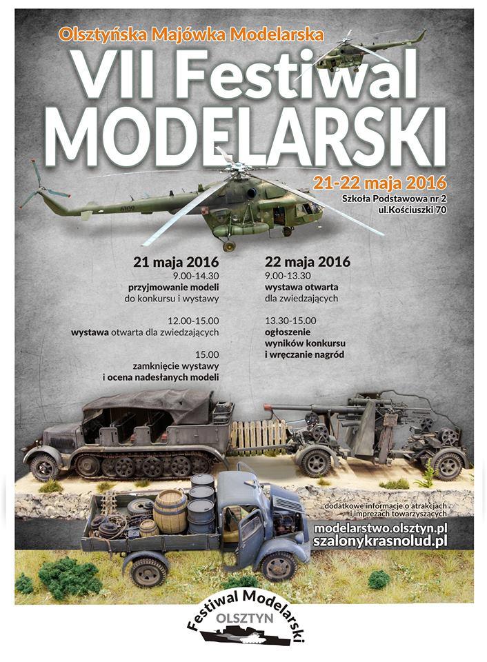 VII Festiwal Modelarski -  Olsztyńska Majówka Modelarska