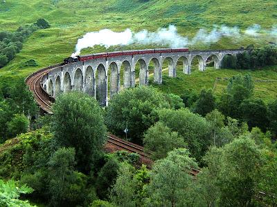 Viadotto di Glennfinnan, nelle Highlands, in Scozia