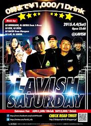 4/4 #弘前LAVISHSATURDAY