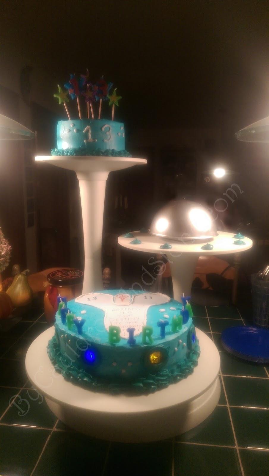 By Cauldron Stone Destiny Birthday Cake The Taken King with