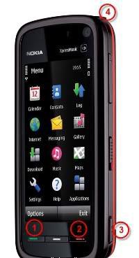 Cara hard reset Nokia 5800
