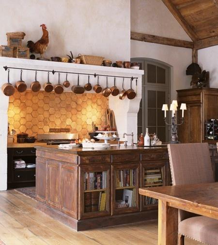Ev dekorasyon hob frans z country mutfak dekorasyonu for French colonial kitchen designs