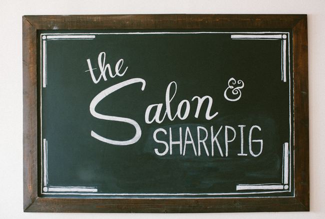 Shark Pig in The Salon