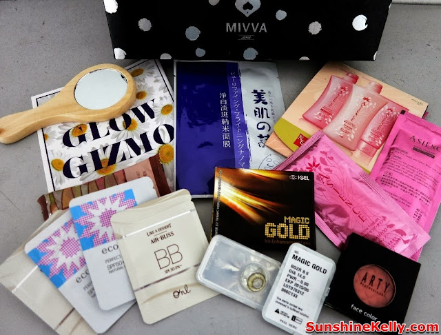 MIVVA Glow Gizmo, Mivva box, Beauty Box Review, beauty