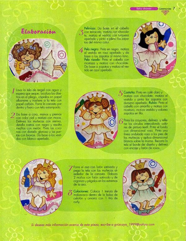 Revistas de manualidades gratis: Manualidades paso a paso para baby