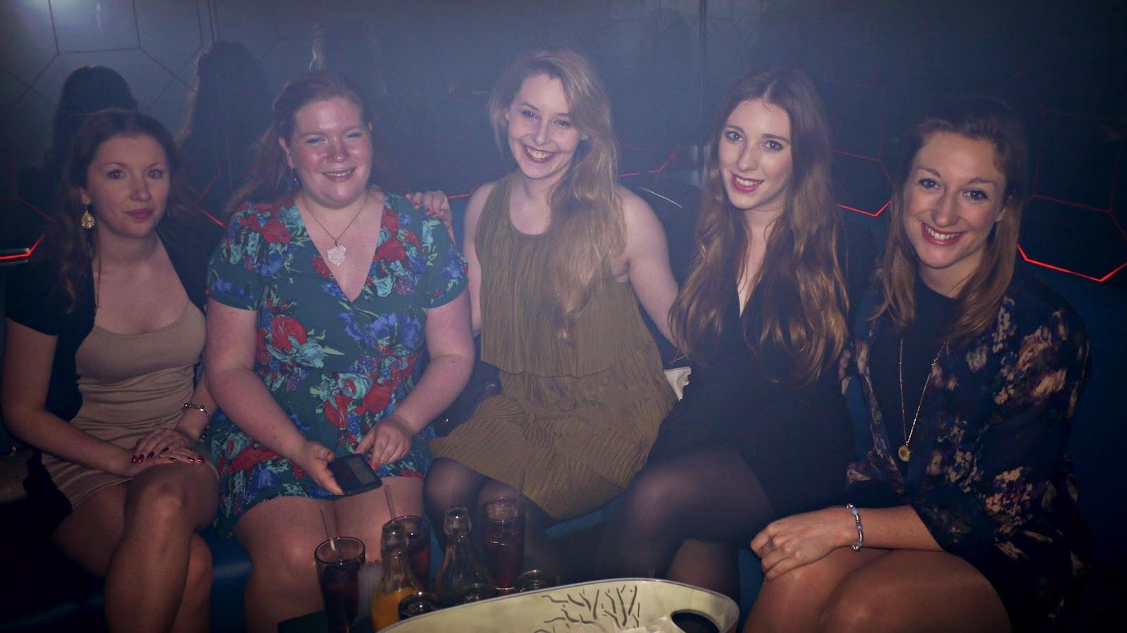 Boujis London girls night out
