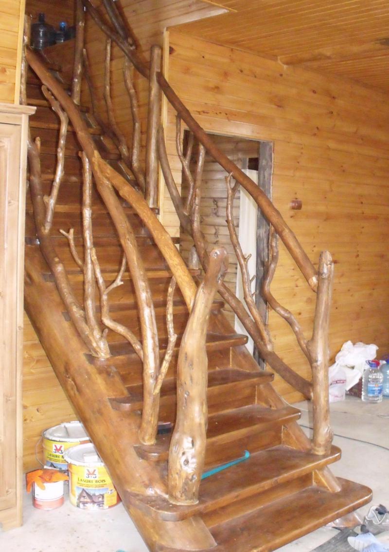 Перила для лестницы из дерева своими руками фото