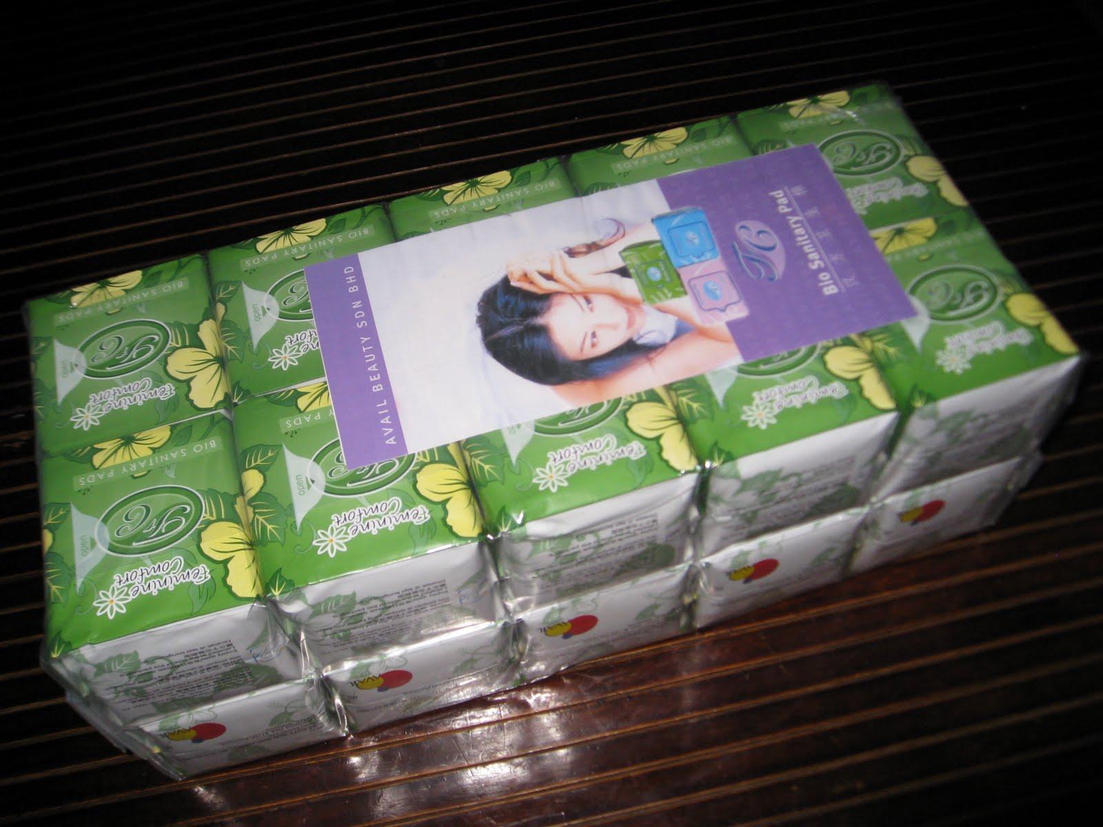 Fc Bio Sanitary Pad Package Hebat Avail Beauty Sb Pantiliner