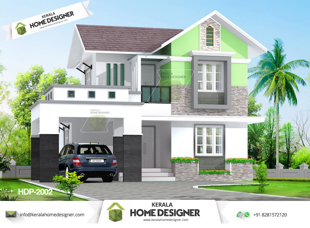 Small home designs in kerala home design and style for Low cost house plans with photos