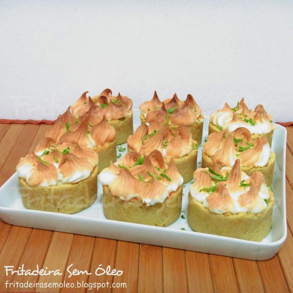 Tortinhas de Limão na AirFryer
