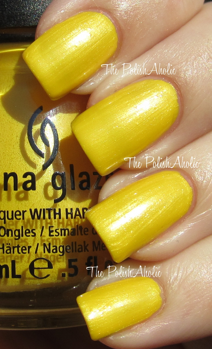 The PolishAholic: China Glaze Spring 2012 Electropop Collection ...