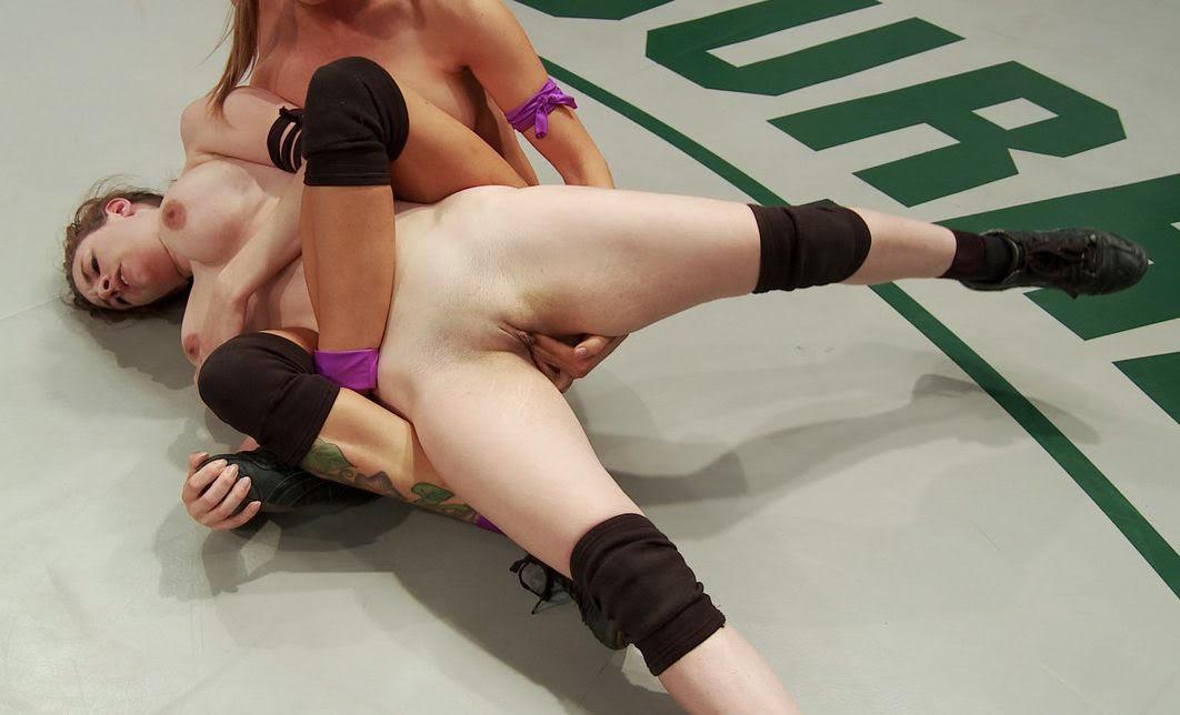 nude girls wrestle