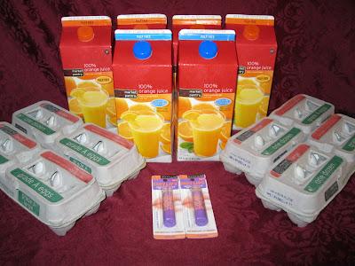 target orange juice