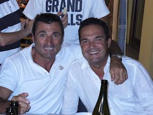 Vico e Bicio, miei amici fin dai tempi della corriera.