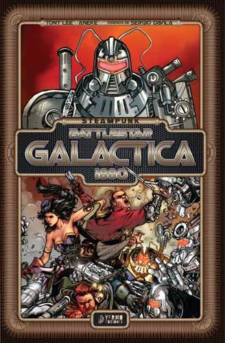Steampunk Battlestar Galactica