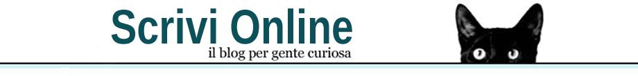 Scrivi Online - Blog Per Gente Curiosa