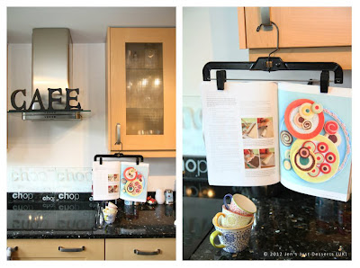 cookbook holder idea
