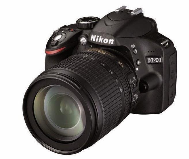 Ejemplo de una cámara Nikon en oferta para navidades
