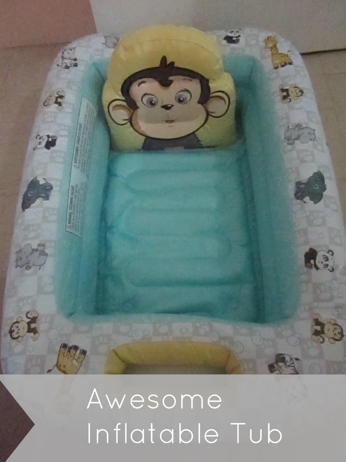 garanimals inflatable tub