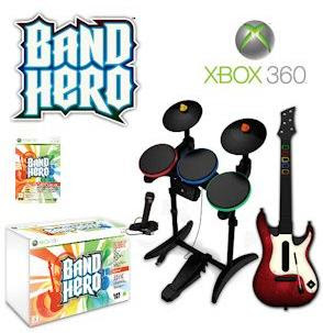 Band Hero: Super Bundle für Xbox 360 für 68,90 Euro