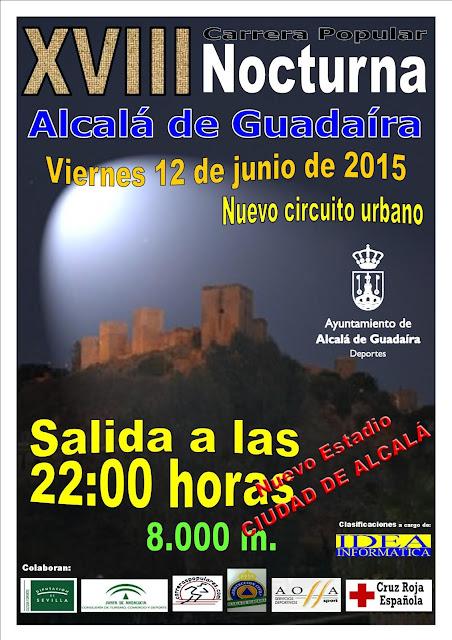XVIII Carrera Popular Nocturna 2015 de Alcalá de Guadaíra