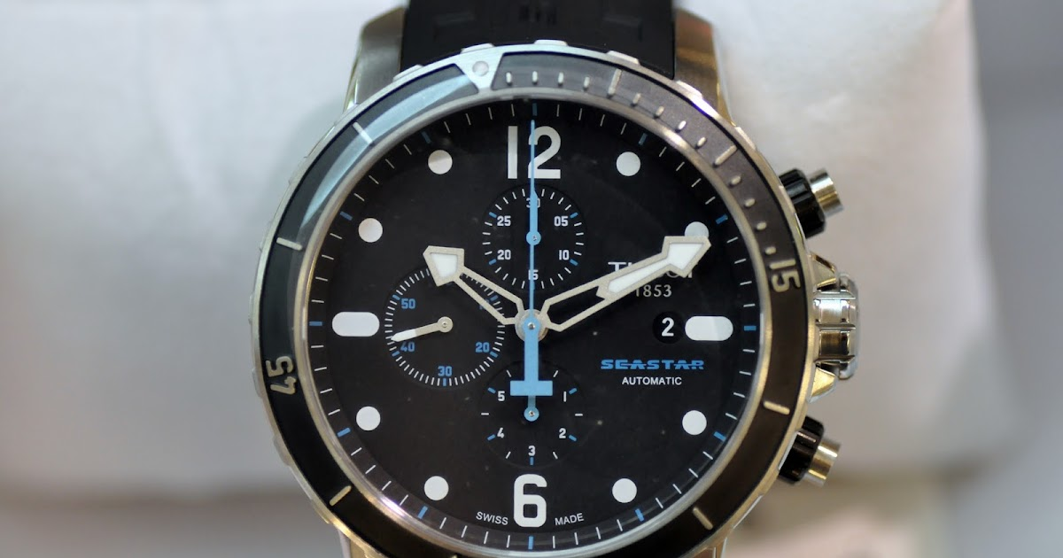 lt watch gallery 321 new authentic tissot seastar 1000 chronograph rm3 550 usd 1 117 euro. Black Bedroom Furniture Sets. Home Design Ideas