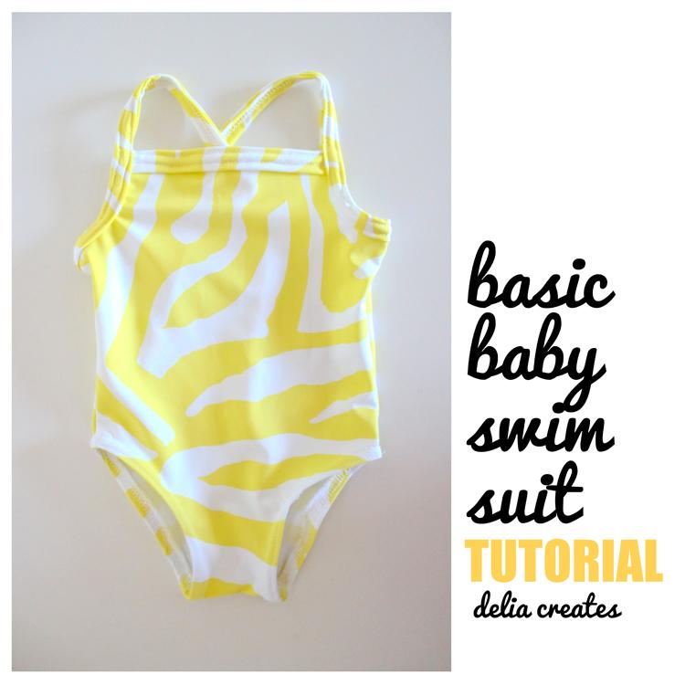 Mundo peques, mis renacuajos.: Como hacer un bañador para niña paso ...