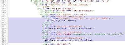 edit HTML template blogspot yang baru