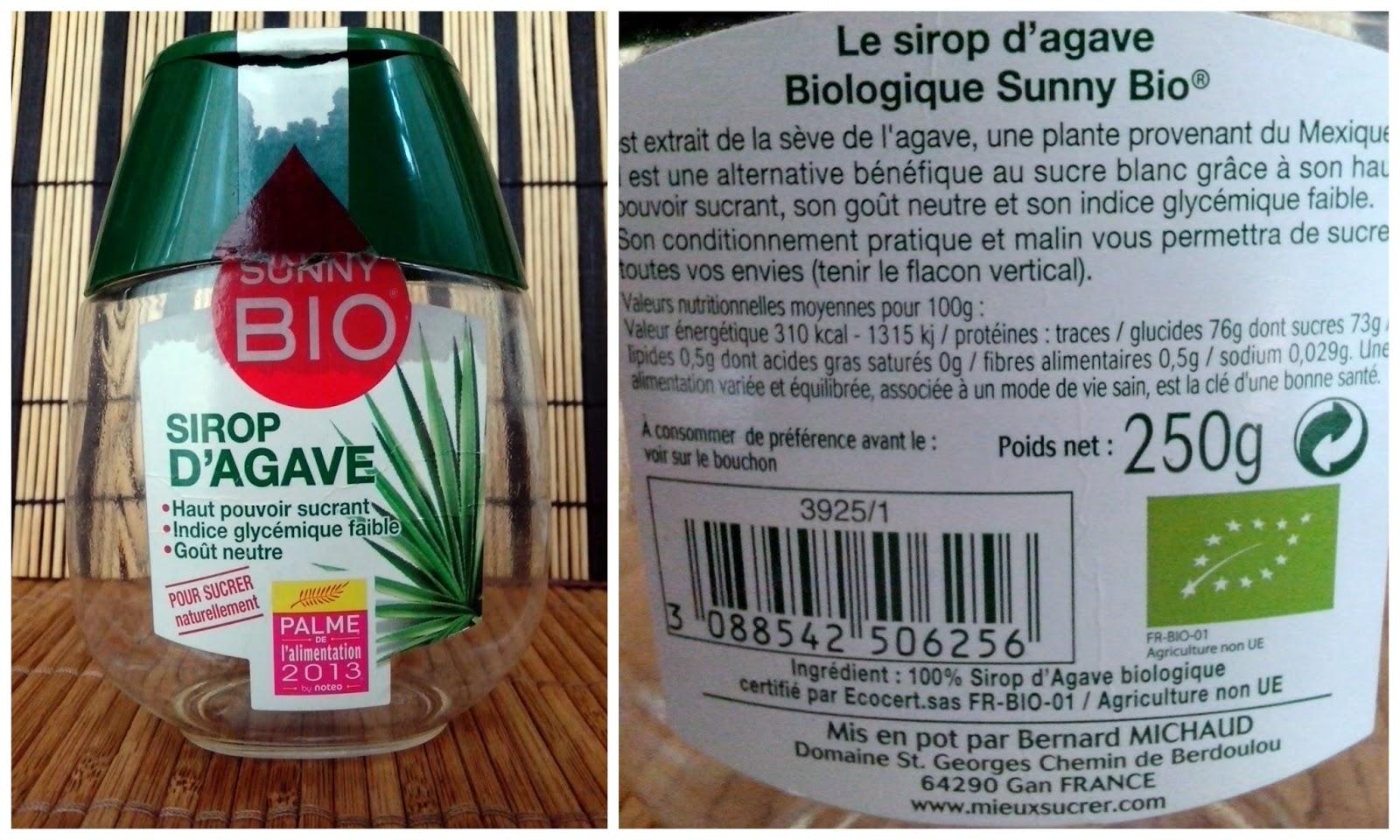 sirope de agave sunny bio