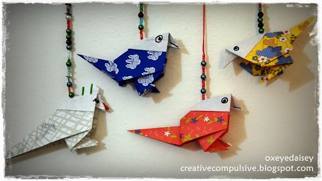 origami song bird