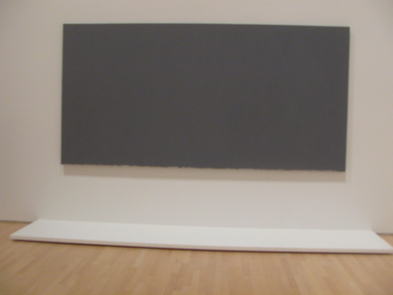 Brice Marden at SFMOMA - The Dylan Painting