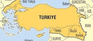"""Ενώ η Αθήνα και το ΥΠΕΞ κοιμούνται O χάρτης της """"Νέας Τουρκίας"""" προκαλεί διπλωματικό επεισόδιο με την Βουλγαρία"""