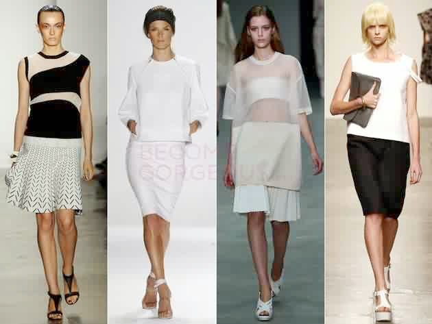 Latest 10 Fashion Trends Spring 2014