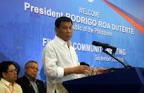 FILIPINAS: Duterte se aleja de la alianza militar con EEUU