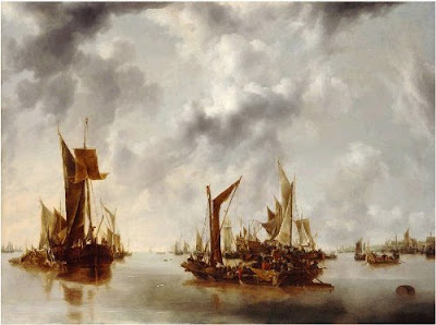 A Calm - Jan van de Cappelle