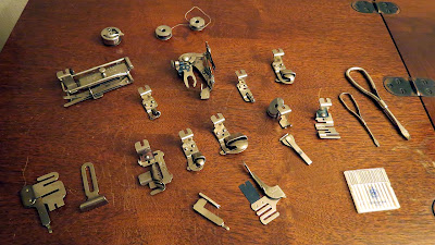 Free-Westinghouse vintage sewing machine accessories