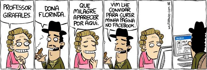 Facebook: Dona Florinda e Professor Girafales
