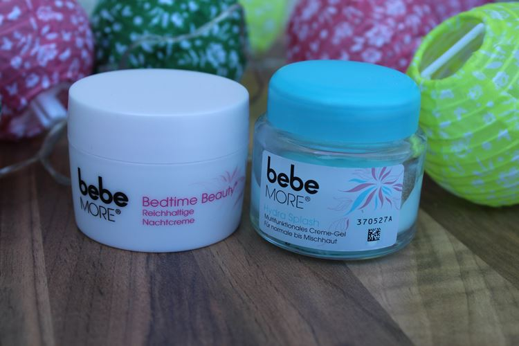 bebe more hydra splash, bebe more bedtime beauty
