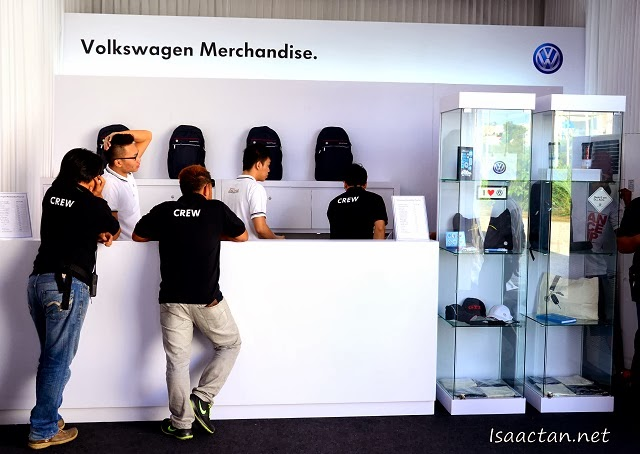 You can purchase your favourite Volkswagen Merchandise at the Volkswagen On Tour roadshow as well