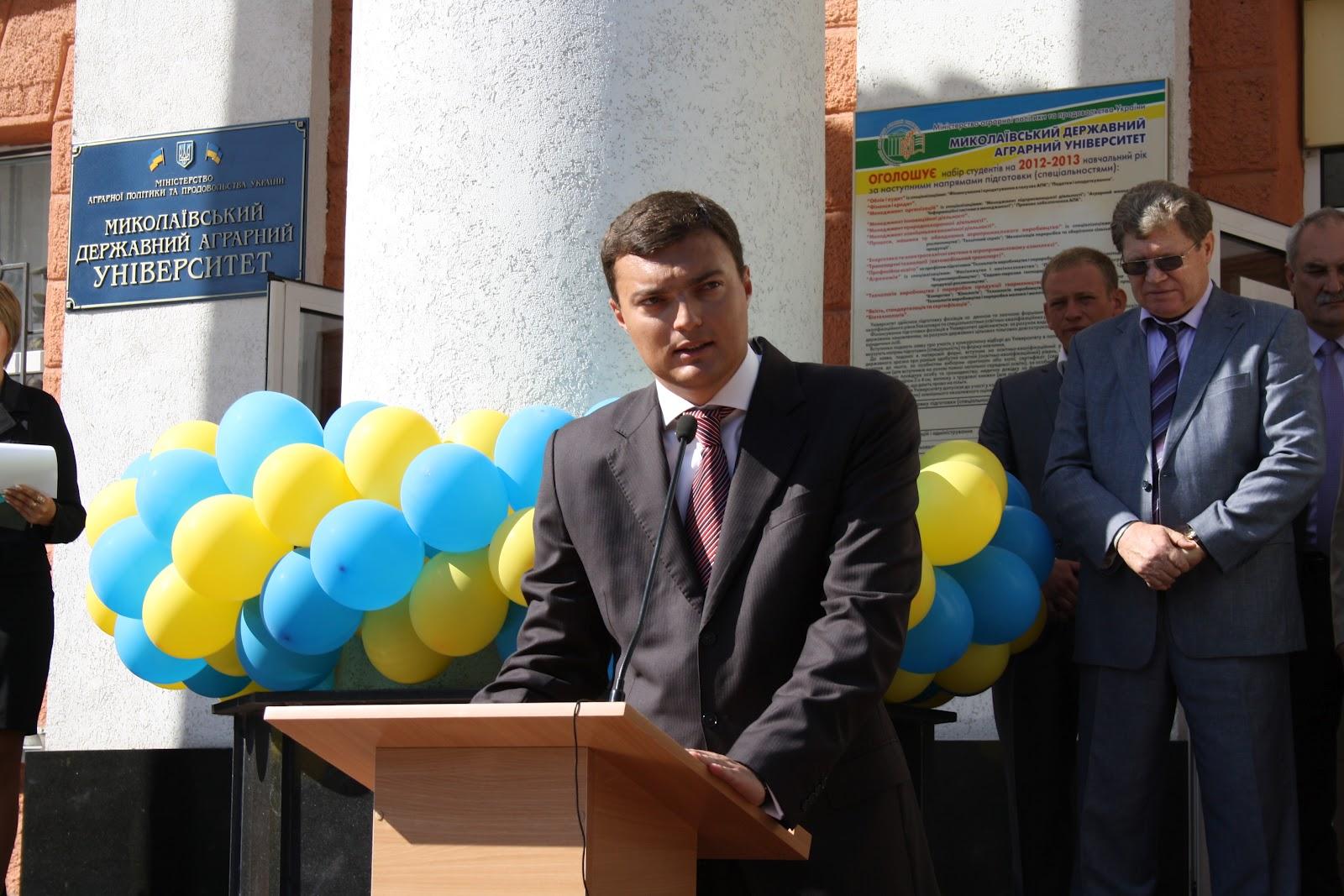 1 сентября - День знаний. Выступление главы Николаевского областного совета Игоря Дятлова.
