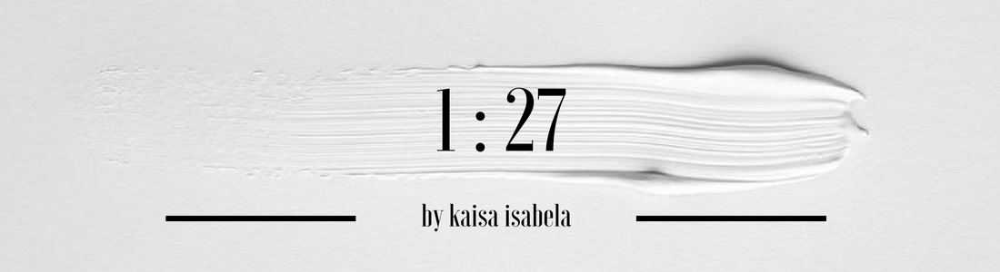 1:27 thoughts by kaisa isabela