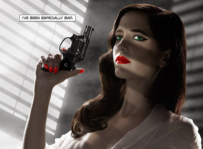 Banned Eva Green Poster Crop