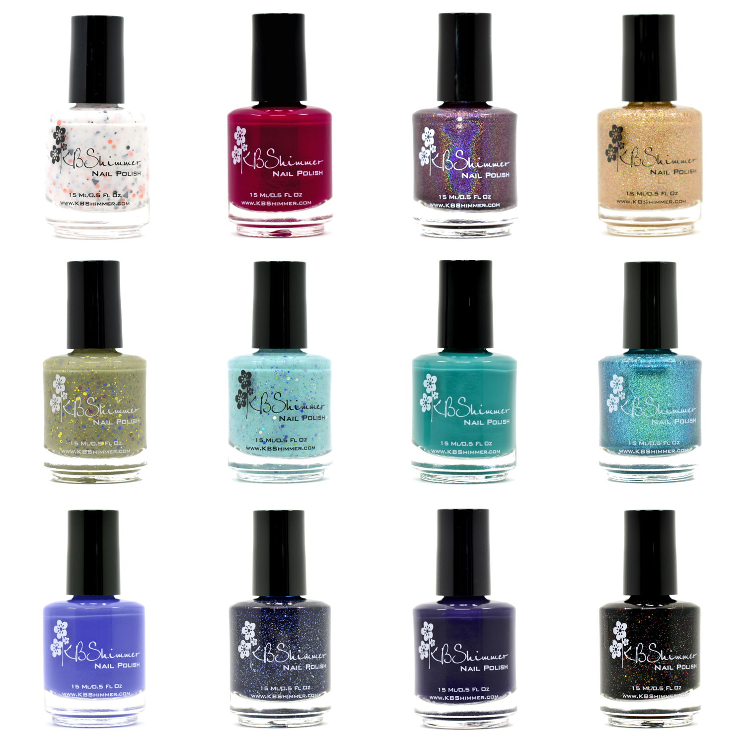 KBShimmer Fall 2015 Collection via @chalkboardnails