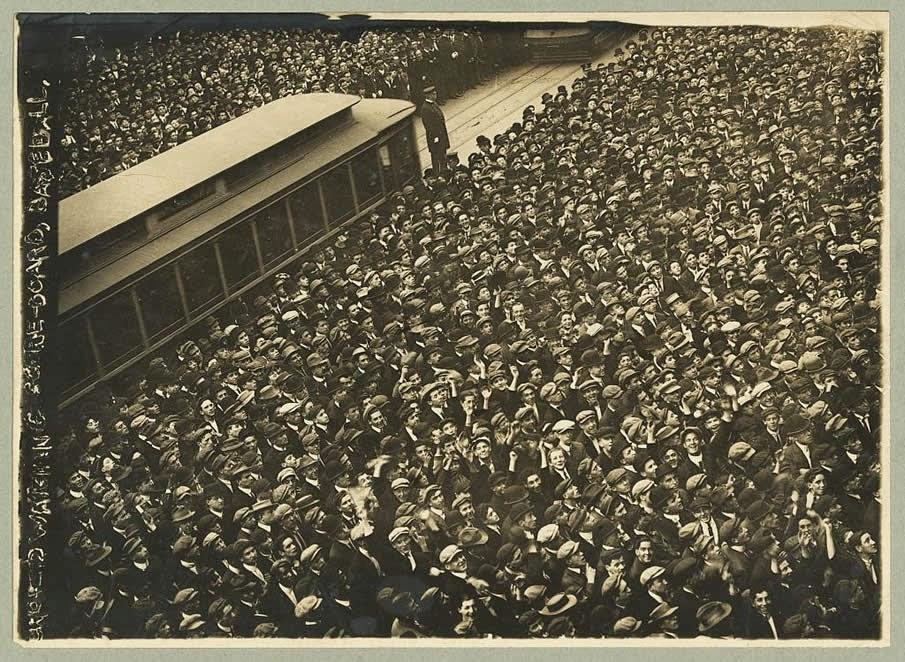 Partido de béisbol 1911